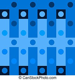 polka dot op art background