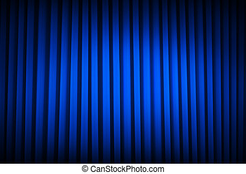 Blue Theater Curtain - Blue Velvet Movie Curtains Dim Lit...