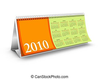 Overview page Desktop Calendar - Overview page 2010 Desktop...