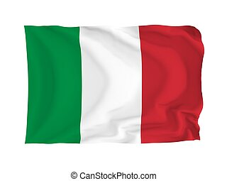 Flag of Italy - Italy High resolution European Flag series...