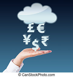 Currency Transfer Between Void Cloud And Open Hand -...
