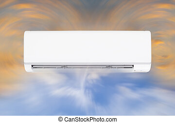 air conditioner - Air conditioner and air circulate.