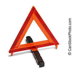 Emergency Road Sign - Triangle Reflector Hazzard Sign...