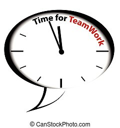 Bubble clock-Time for Teamwork