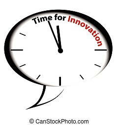 Bubble clock-Time for Innovation
