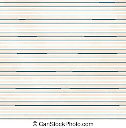 Lined paper texture - Old vintage lined paper texture Vector...