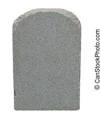 pierre, Tombe