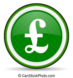 pound green icon