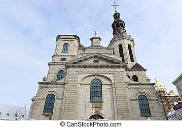Notre Dame Basilica - Quebec City, Canada
