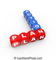 3d crossword action plan