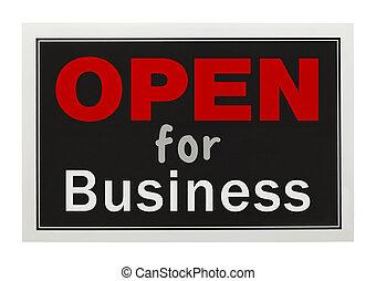 開いた, ビジネス