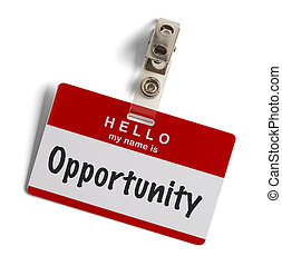 Opportunity Tag