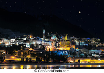 St.Moritz by night