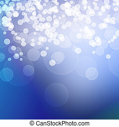 Elegant abstract background with bokeh defocused lights