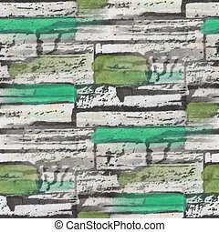 seamless green bog bricks texture background wallpaper...