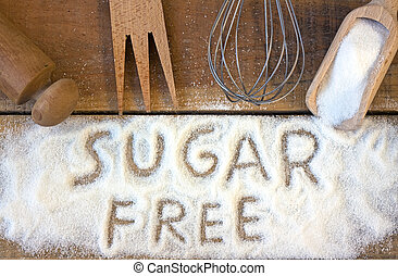 a sugar free word with background - a sugar free word with...