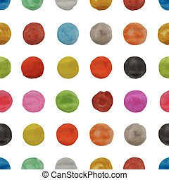seamless pattern with watercolor - seamless background with...