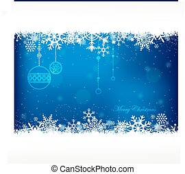 christmas background. - blue color christmas background with...