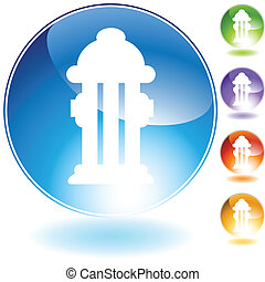 hydrant crystal icon