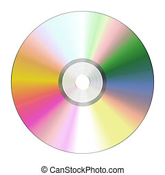 cd rom - An illustration of a nice cd rom texture