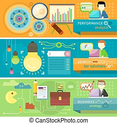 Strategy, search solutions, performance analysis