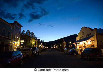 Out at night - Night time at Crested Butte, CO