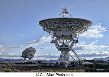 Picture of Radio Telescopes - Landscape of Very Large Array...