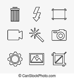 computer icons design,vector illustration eps10 graphic