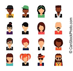 person avatars design,vector illustration eps10 graphic