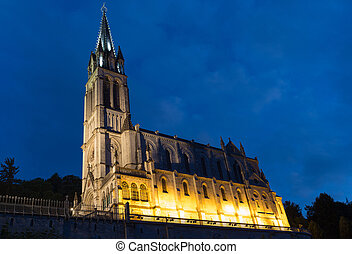 The Basilica of Our Lady of the Immaculate Conception at...
