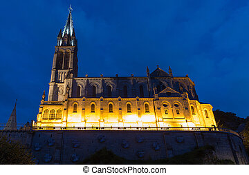 The Basilica of Our Lady of the Immaculate Conception in...