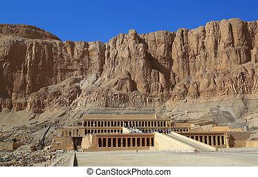 temple of Hatshepsut in Luxor Egypt
