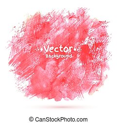 Abstract vector watercolor background. - Abstract vector...