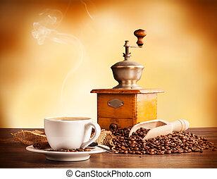 café, todavía, vida