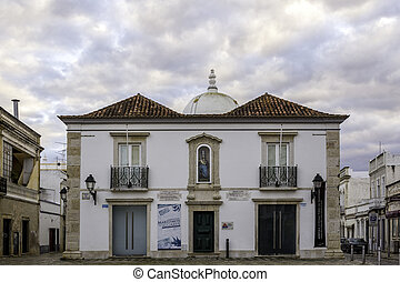 Church of Nossa Senhora da Soledade, Municipal Museum entry....