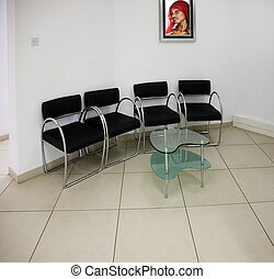 Waiting room generic, initially on some medical practice,...