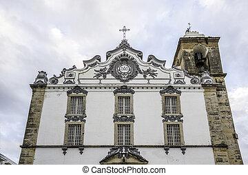 Church of Nossa Senhora do Rosário in Olhao. Algarve,...