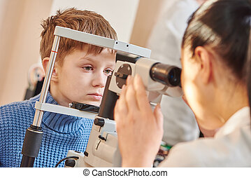 children ophthalmology or optometry - Child optometry....