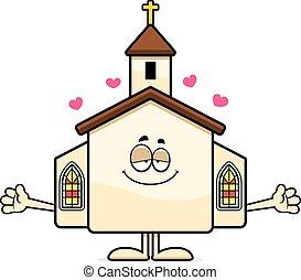포옹, 만화, 교회