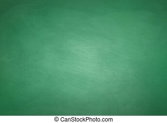 Green chalkboard background. - Green grunge chalkboard...