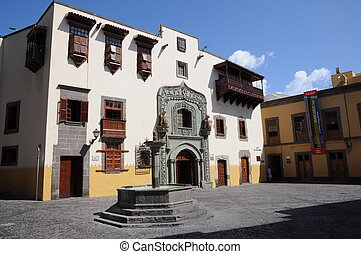 Casa de Colon in Las Palmas de Gran Canaria, Spain