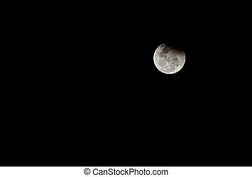 Lunar Eclipse. - Lunar Eclipse in thailand 2015.