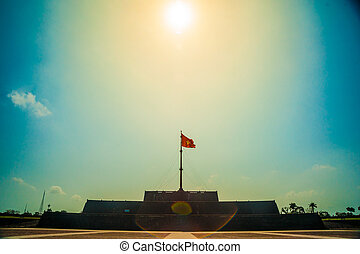 Citadel of Hue - The Flag Tower Cot Co in the Citadel of Hue...