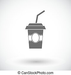 Paper fast food cup