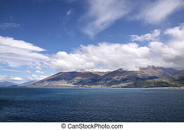 Lake Wanaka in the Westland National Park, South Island, New...