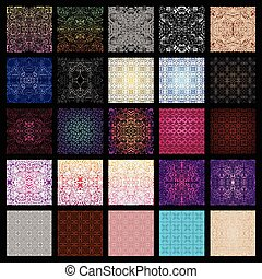 Big collection of seamless patterns