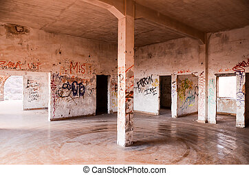 Abandoned Buildings of a Military Base