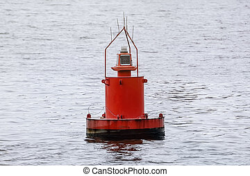 Buoy - Red Buoy On The Water
