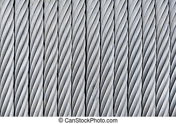 Hawser - Background Of Steel-Wire Rope