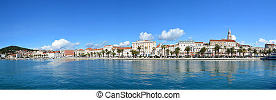 SPLIT CROATIA PANORAMA - Split, Croatia - panorama of city...